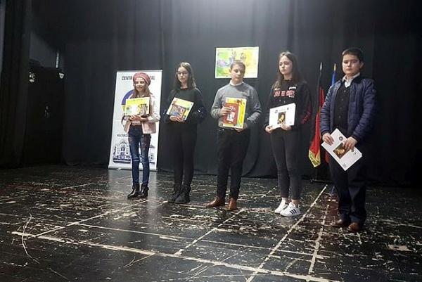 Câștigătorii concursului de recitări organizat la Carei cu ocazia Zilei Internaţionale a Limbilor Materne