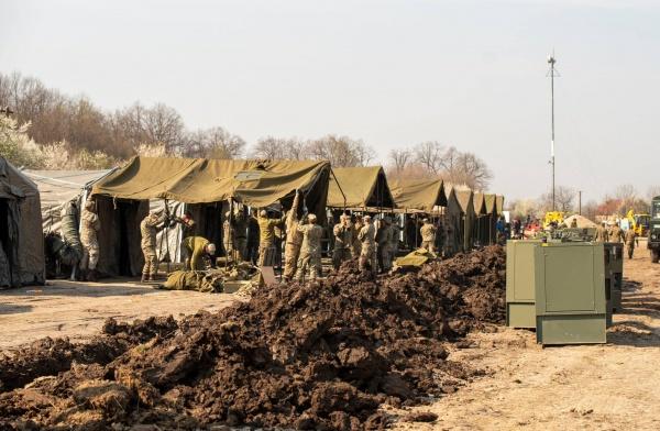 Armata României e la datorie! Izoletă și Spital construite  în timp record
