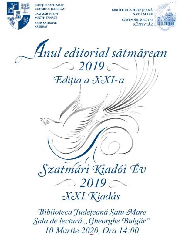 Anul editorial sătmărean la cea de-a XXI-a ediție