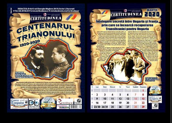 Calendar CERTITUDINEA. Înțelegere secretă între Ungaria și Franța prin care se încearcă recuperarea Transilvaniei pentru Ungaria