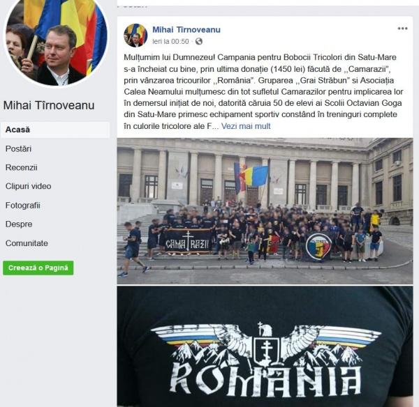 Mihai Tîrnoveanu și Daniela Ciută acuzați de legionarism de angajatul Primăriei Carei. Careienii îl plătesc pe Szasz pentru a denigra opozanții primarului evazionist, șeful său direct