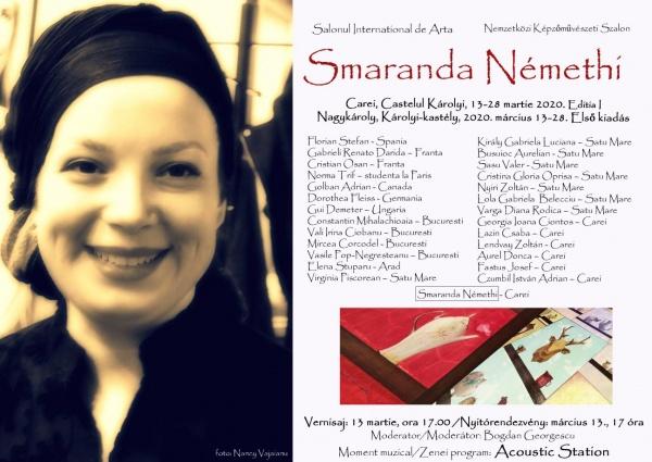 Salon Internațional de Artă la Carei In Memoriam Smaranda Milu Némethi