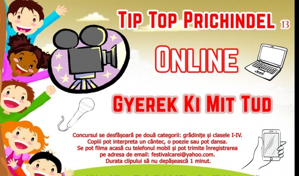 Premieră la Carei. Concurs Tip Top Prichindel online