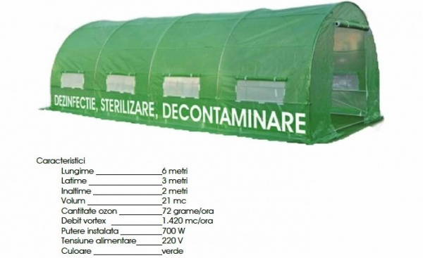 Când se va monta cortul pentru dezinfecție, sterilizare și decontaminare  la Carei?