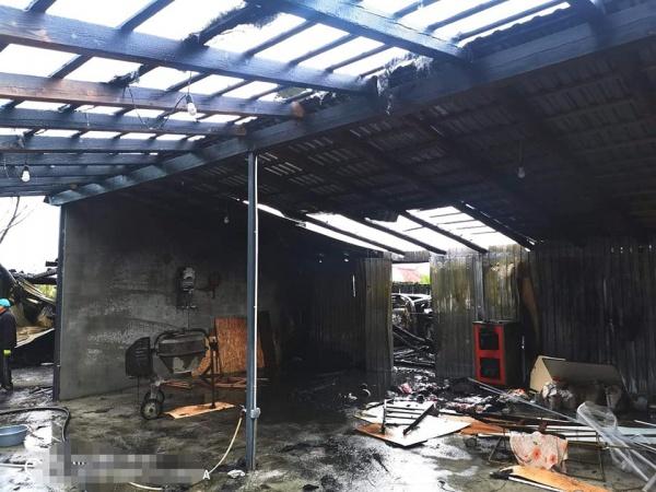 Incendiu de proporții la Halmeu
