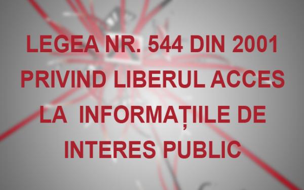 Legea liberului acces la informaţiile de interes public pe înțelesul tuturor