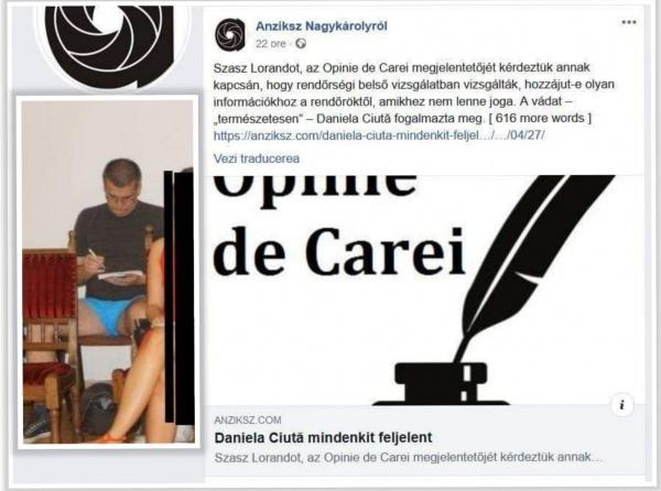 Candidatul UDMR la Primăria Căpleni face pe securistul la Carei pe bani publici