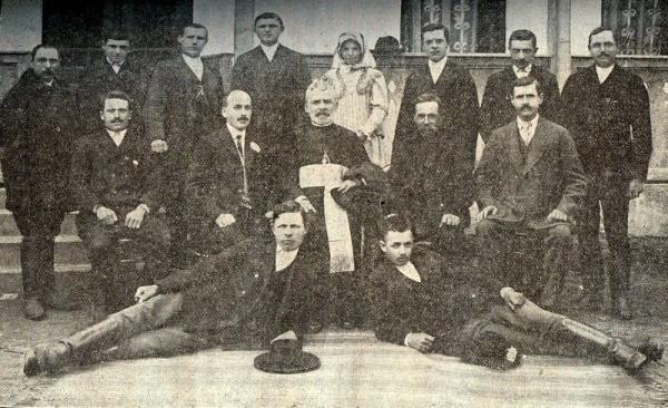 Paștele la români în anul 1913 în comuna Moftin. Preotul Mureșan întemnițat pentru atitudinea sa demnă