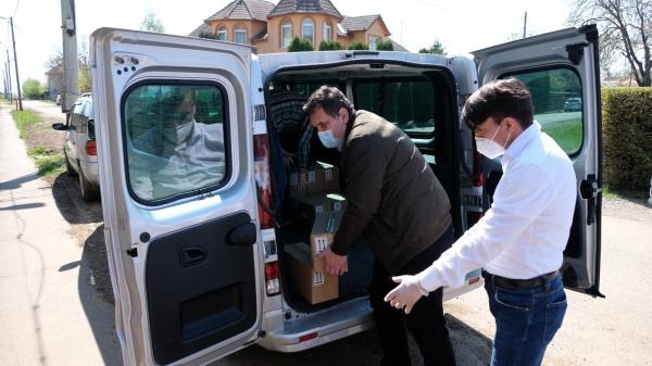 UDMR Satu Mare aduce la Centrul Alexandru Carei din donațiile Guvernului Ungariei