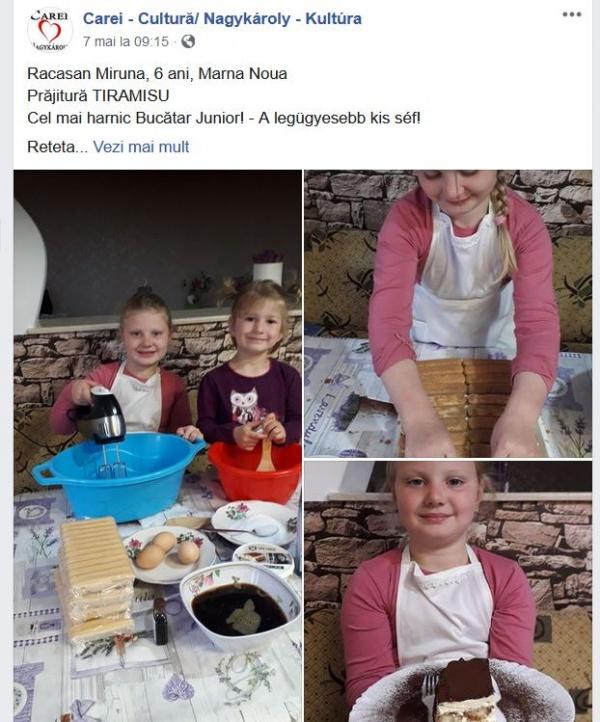 Copiii bucătăresc! Rețeta de pâine de casă și cozonac e pe mâini bune