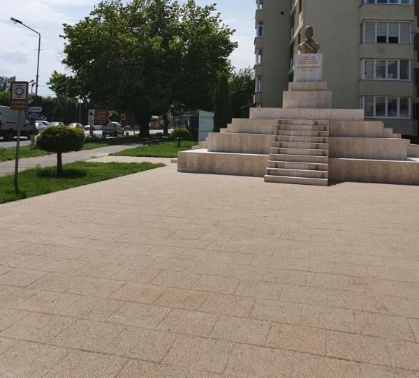 Lucrări încheiate în cadrul proiectului de reabilitare  ,,Ansamblu Monumental Avram Iancu,,  din Carei