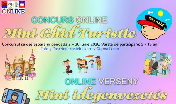 """CONCURS ONLINE """"Mini Ghid Turistic"""" la Carei dedicat copiilor"""