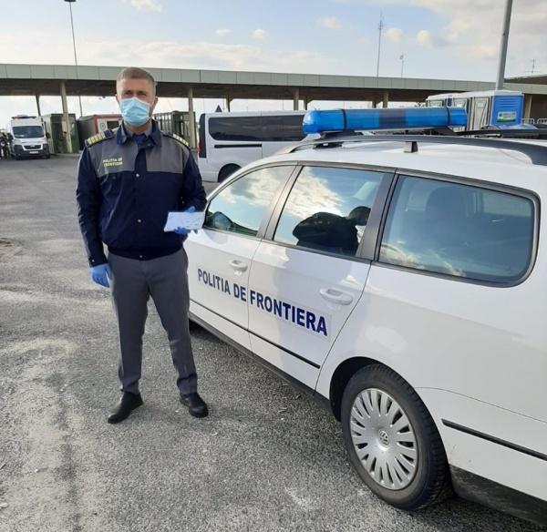 Doi polițiști de frontieră români trimiși la graniţa ungaro-austriacă
