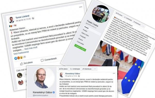 Reacții dure ale liderilor UDMR Satu Mare la adresa președintelui Klaus Iohannis