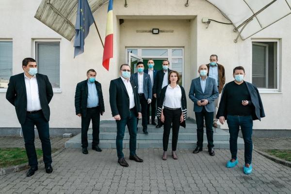 Ministrul Agriculturii a vizitat producătorii sătmăreni. Cumpărați produse românești!