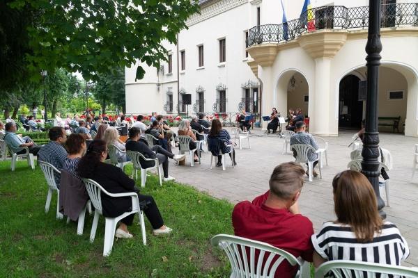 Concert în Parcul Dendrologic Carei