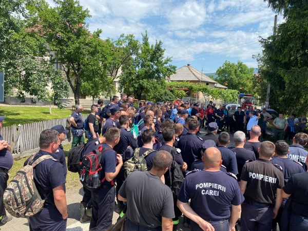 Concentrare de forțe la Tarna Mare în căutarea unui bărbat dispărut