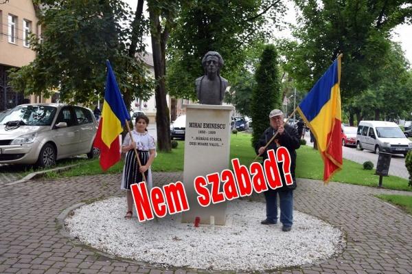 De ce nu are  loc Mihai Eminescu și pe pagina oficială a Primăriei Carei în limba maghiară?