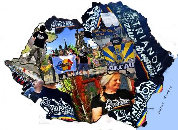 Ziua Tratatului de la Trianon a adus la Carei frați români din toată țara