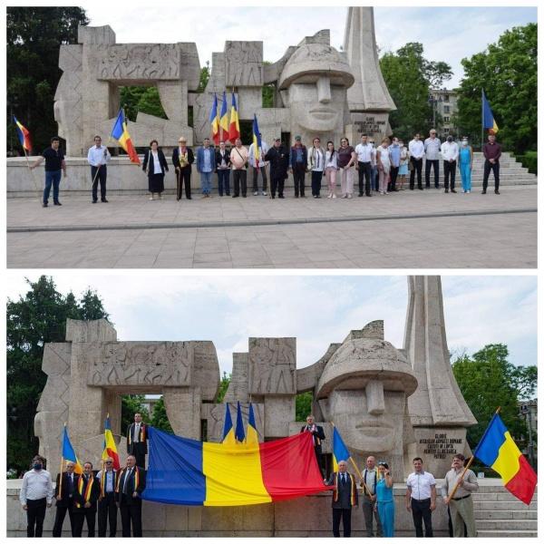 Manifestări separate de Ziua Drapelului la Carei