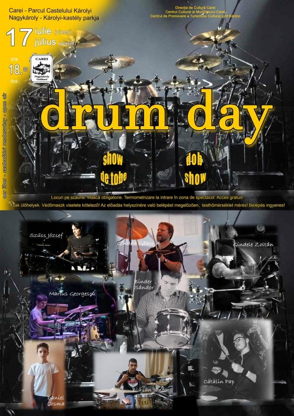 """Concert """"DRUM DAY"""". Eveniment caritabil"""