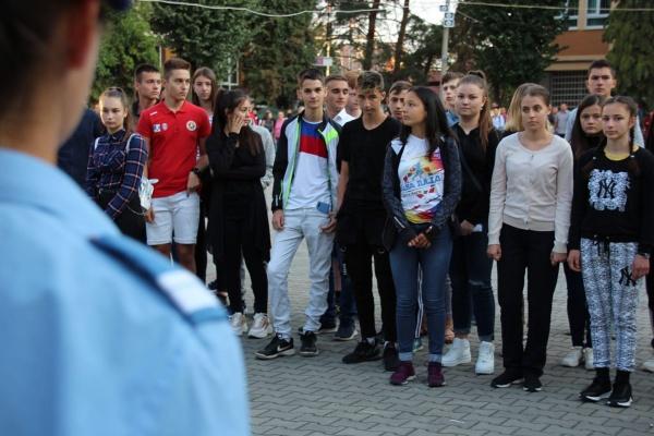Karina Linzenbold de la Școala ,,Vasile Lucaciu,, Carei admisă la  învățământul liceal militar
