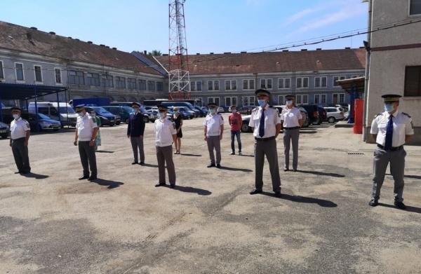 Avansări în grad de Ziua Poliţiei de Frontieră Române