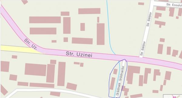 S-a aprobat rețea de apă și canalizare pe strada Grădinarilor din Carei