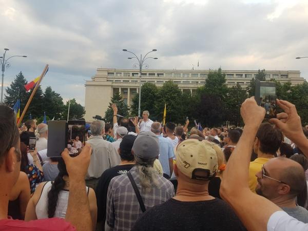 Protest față de măsurile de carantină și izolare