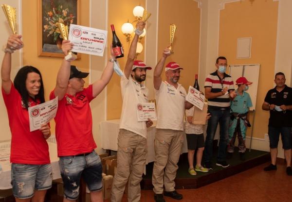 Cehii Miroslav Zapletal – Marek Sykora au câștigat prima etapă a  Campionatul Național de Rally Raid Satu Mare