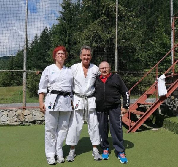 A.C.S. Sakura Carei la stagiu de pregătire cu Lotul Național de Karate SKDUN