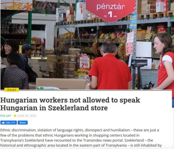 Se petrece în România! A te exprima în limba oficială se consideră batjocură