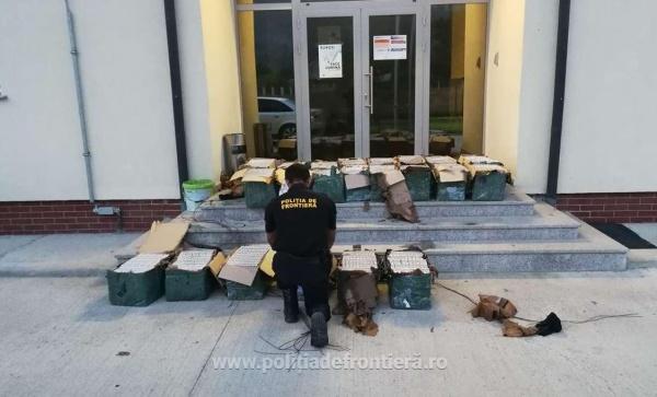 Țigări de contrabandă depistate de Poliția de Frontieră Tarna  Mare și Halmeu