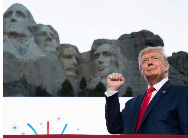 Trump, discurs fulminant, de Ziua Națională a SUA