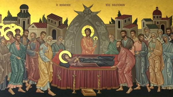 În Ajunul Sărbătorii Adormirii Maicii Domnului