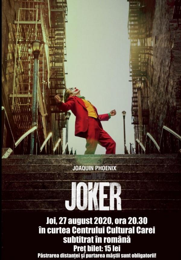 Careienii nu vor Joker