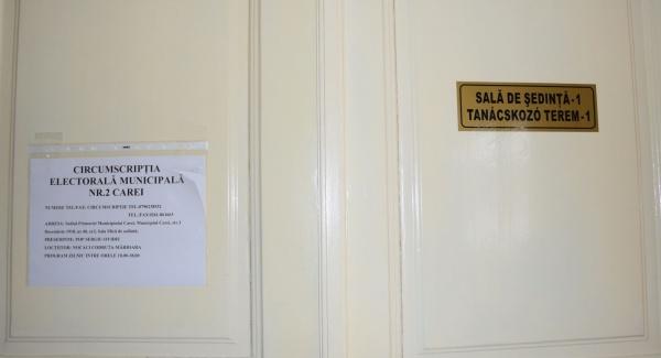 Ordinea candidaților și a partidelor pe buletinele de vot pentru Primăria și Consiliul Local Carei