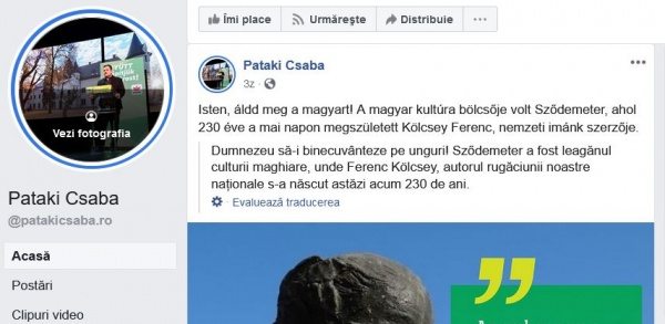 Lupta UDMR pentru județul Satu Mare, județ majoritar românesc