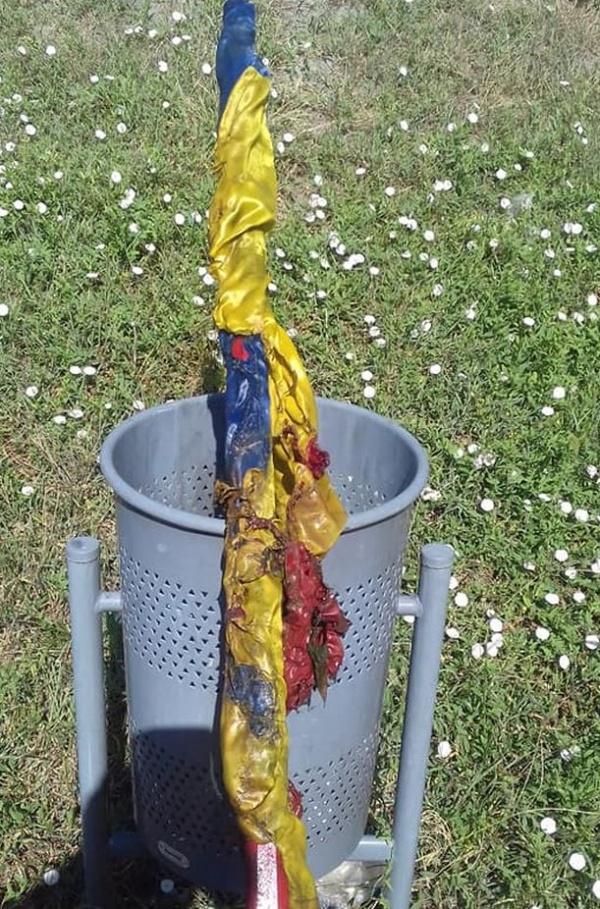Închisoare pentru profanarea drapelului României. Replica liderului senatorilor UDMR cetățeni ai României