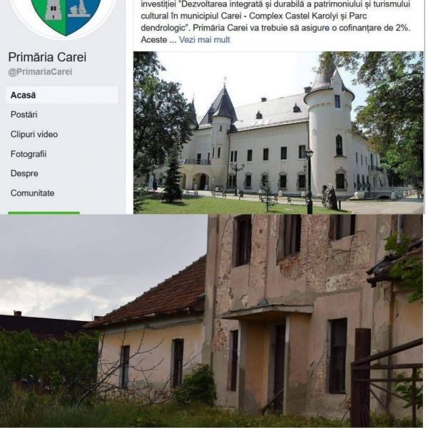 Primăria Carei accesează proiecte doar pentru Castel. Nimic pentru Ianculești