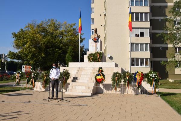 A doua comemorare a Eroului Național Avram Iancu la Carei
