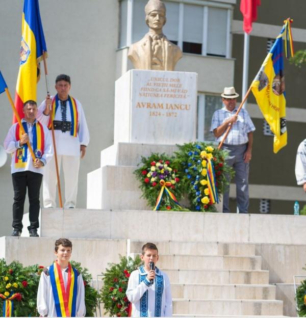 Eroul Național Avram Iancu a fost comemorat la Carei