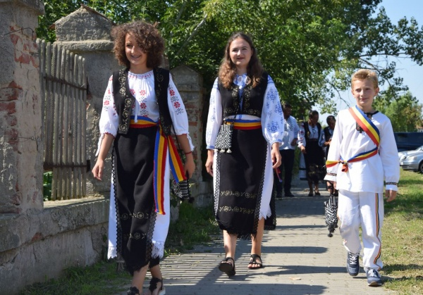 Tinerii au venit la Carei pentru comemorarea victimelor Dictatului de la Viena
