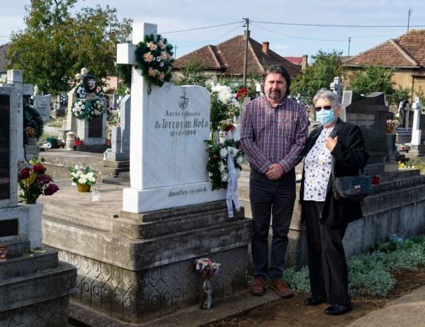 Comemorare Francisc Pall și Neța Iercoșan la Carei