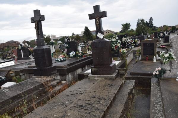 Mormântul unui dascăl român salvat de la desființare la Carei