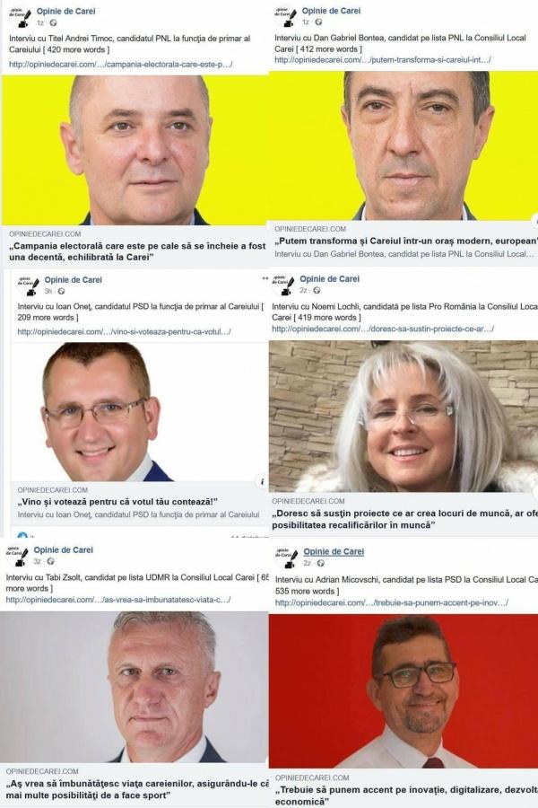 Partidele din Carei care s-au conformat indicațiilor consilierului primarului UDMR-ist