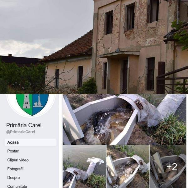Doar pești pentru Ianculești. Școală demolată și Cămin Cultural refuzat a fi reabilitat