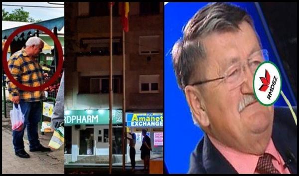 Pinter Iosif, masca, steagul național și campania electorală pentru evazionistul Kovacs