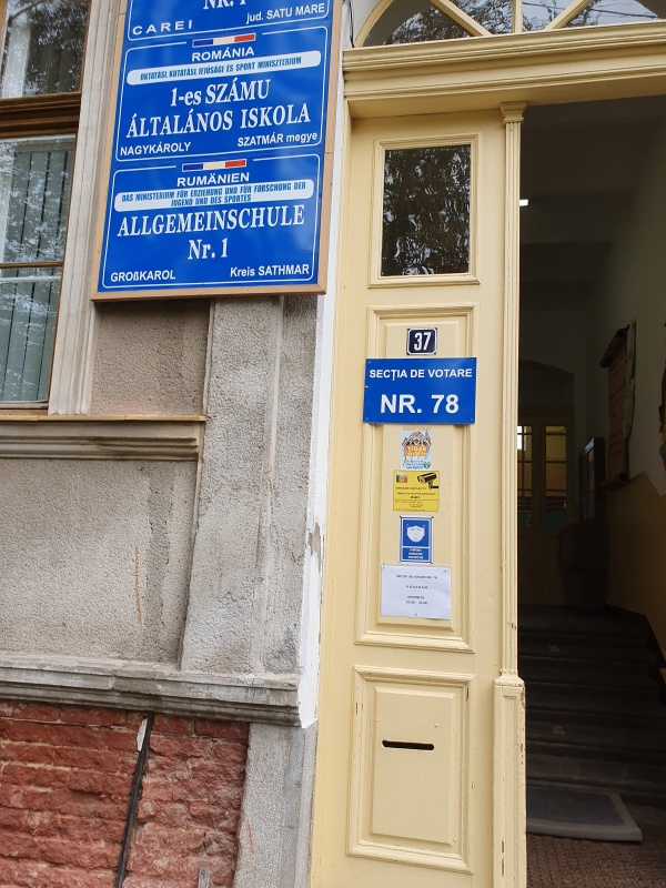 Peste 8% prezență la vot  în județul Satu Mare