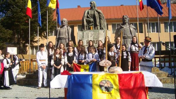 """Mesajul Asociației """"Țara Iancului-Iubirea Mea"""" la comemorarea lui Avram Iancu de la Carei"""